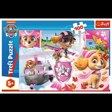 Kinder-Puzzle Paw P. Skye i.Action / 100 Teile Puzzle
