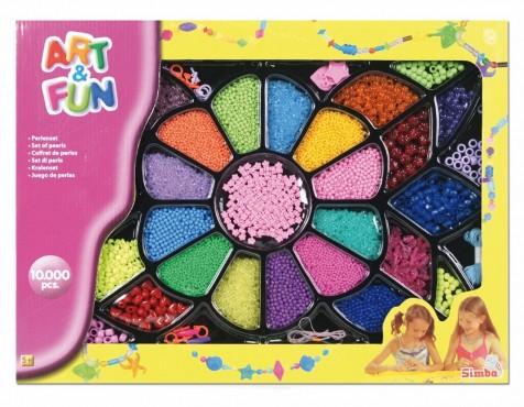 Art&Fun Perlen Geschenk-Set / 10.000 Teile