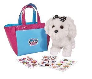 MBF Hund in Tasche, / mit 25 Sticker