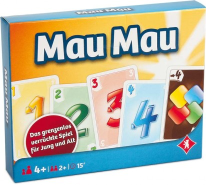 MAU-MAU, 2 x 55 Blatt / das beliebte Kartenspiel