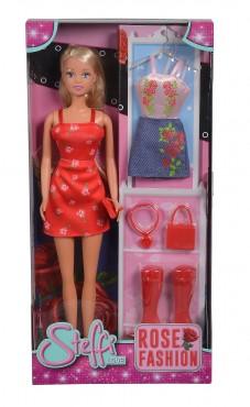 Steffi Rose Fashion mit Zubehör / 29 cm Ankleidepuppe
