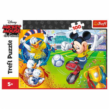 Kinder-Puzzle Mickey M. & Friends / 100 Teile