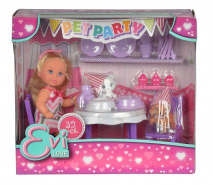 Evi Pet Party / 12 cm / 32-teilig