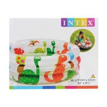 Dinosaur Baby Pool, 3 Ringe / 61 x 22 cm
