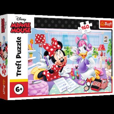 Kinder-Puzzle, 160 Teile / Minnie Mouse